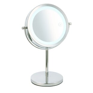 Compare LED Light Cosmetic Mirror By Home Basics