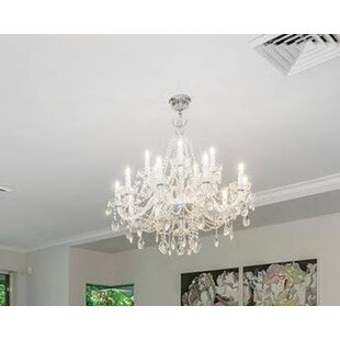 Doggett 15-Light Candle Style Chandelier by Astoria Grand