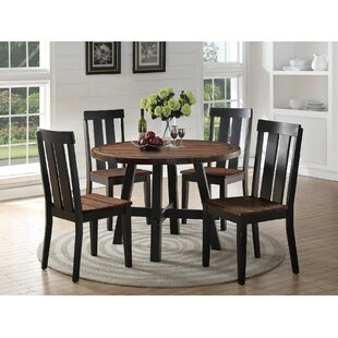 Goodman 5 Piece Dining Set Gracie Oaks