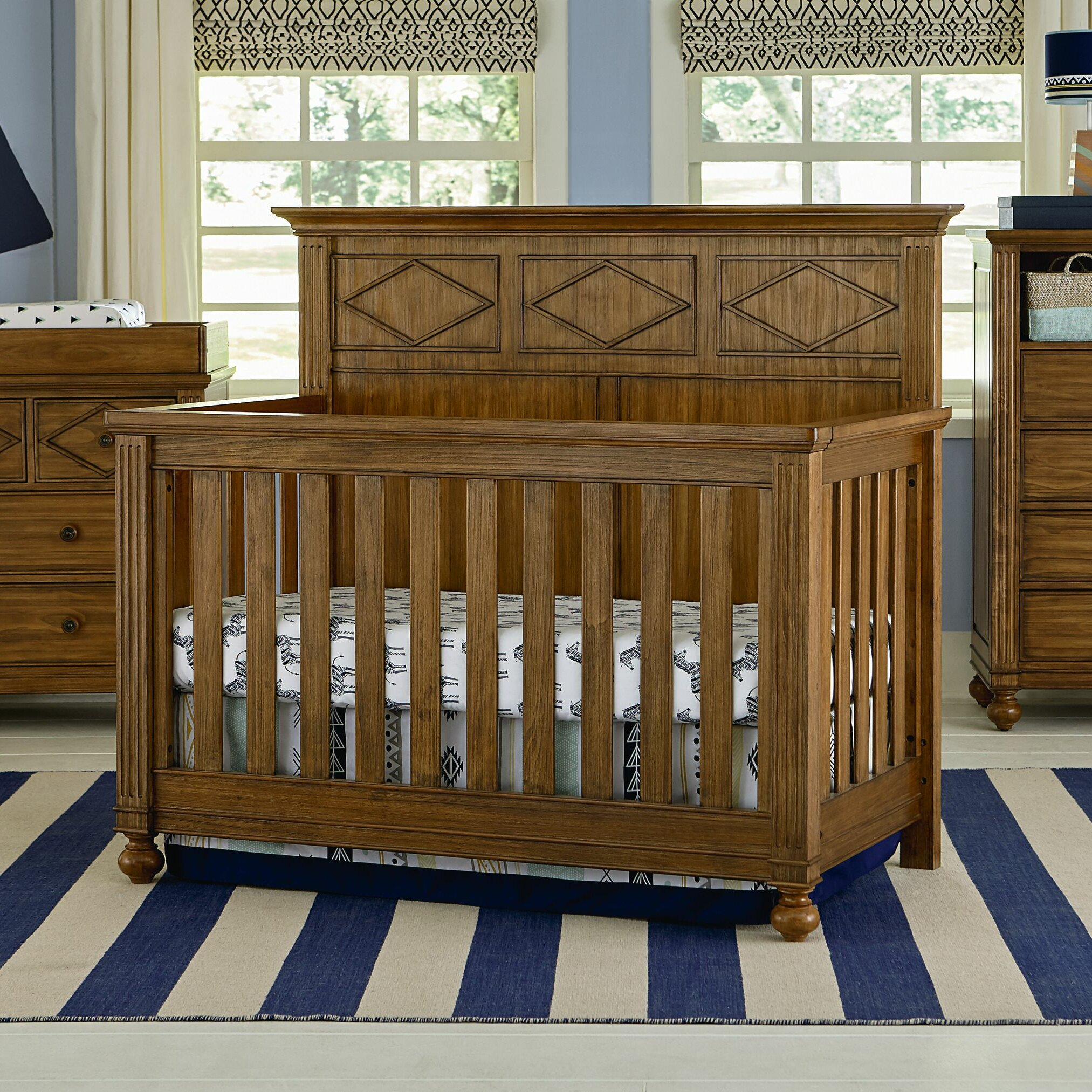 Bassett Baby Brookdale 4 in 1 Convertible Crib