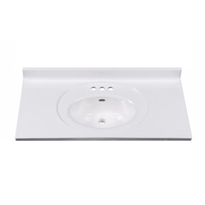 Recessed Center Oval Bowl 37