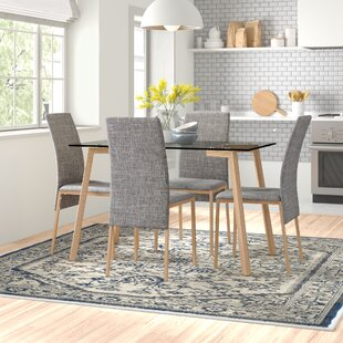 Kyoto Dining Table And 4 Chairs By Zipcode Design