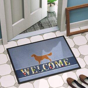 Golden Retriever Indoor/Outdoor Doormat