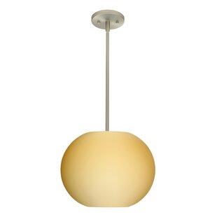 Besa Lighting Jordo 1-Light Globe Pendant