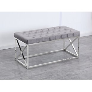 Genoa Velvet Upholstered Bench