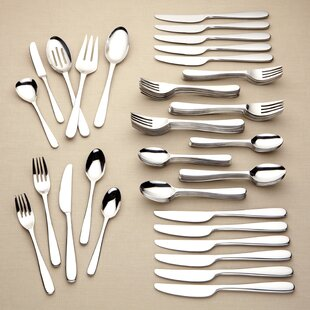Stratton 65 Piece Flatware Set, Service For 12 By Lenox