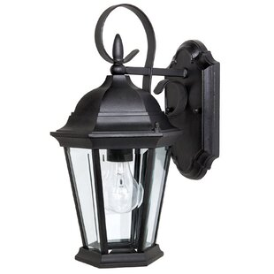 Hounsfield Traditional 1-Light Outdoor Wall Lantern by Alcott Hill