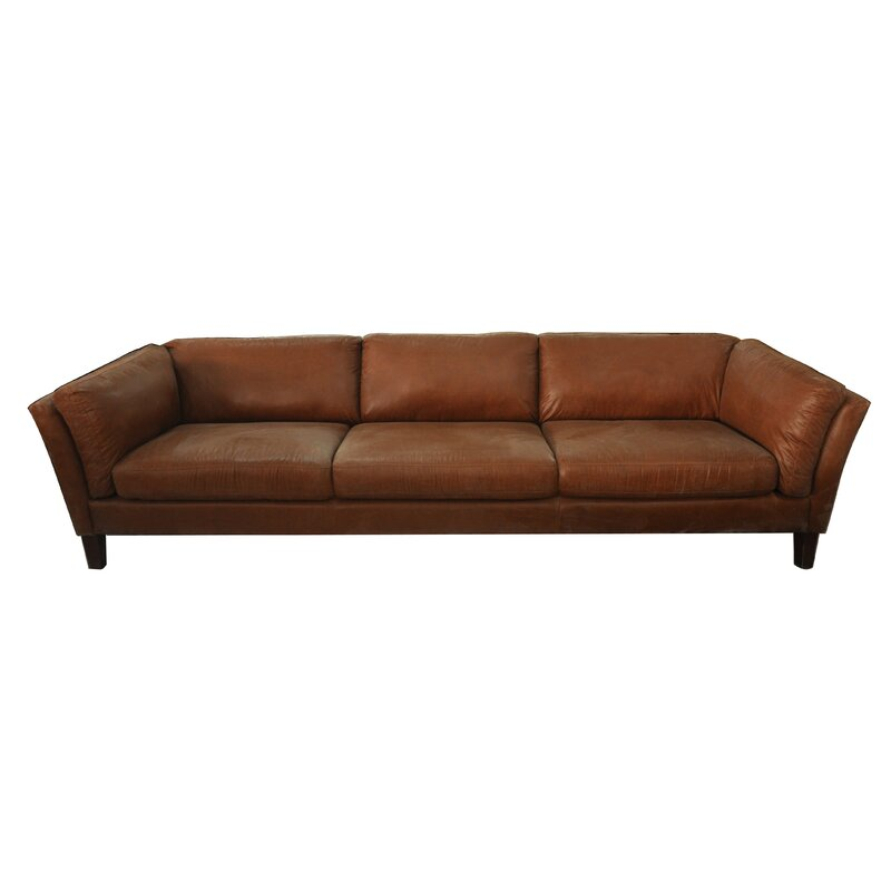 Incroyable Condron 3 Seater Leather Sofa
