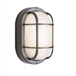 Glendale 1-Light Outdoor Bulkhead Light