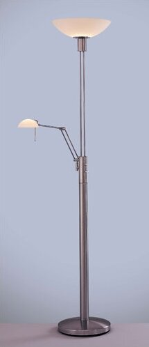 """George's Reading Room 71"""" Torchiere Floor Lamp"""