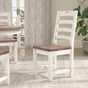 Fallston Solid Wood Dining Chair by Gracie Oaks