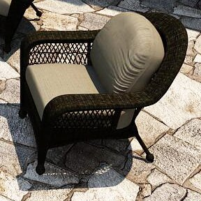 Catalina Patio Chair with Sunbrella Cushions
