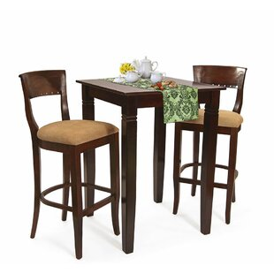 Ealy 3 Piece Pub Table Set