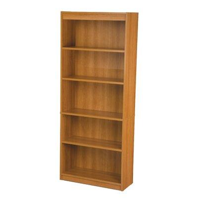 Alves Standard Bookcase Bookcase Color: Cappuccino Cherry by Mercury Row
