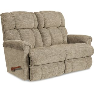 Pinnacle Reclining Loveseat by La-Z-Boy Modern
