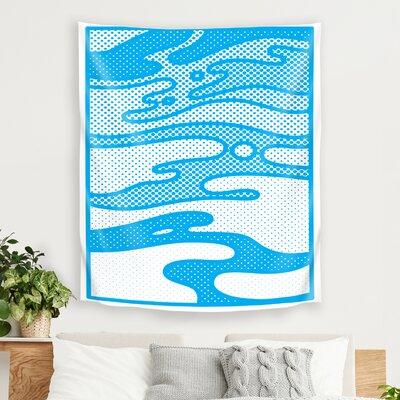 Pop Camo by Joe Van Wetering Tapestry East Urban Home Size: 104 H x 88 W x 1 D