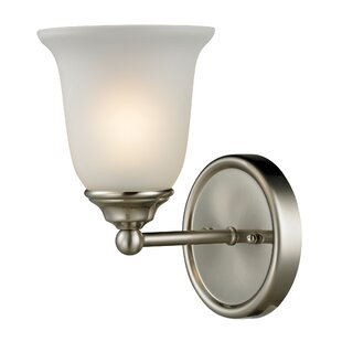Online Reviews Tabetha Contemporary 1-Light Bath Sconce By Red Barrel Studio