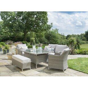 6 Seater Rattan Sofa Set By Kettler UK