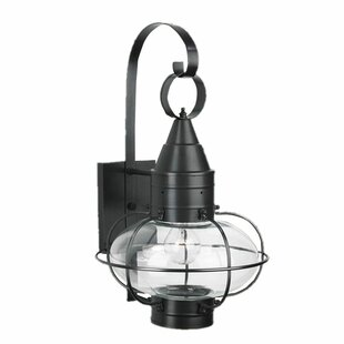 Withyditch 1-Light Outdoor Wall Lantern by Breakwater Bay