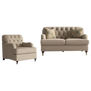 Batholo 2  Piece  Living Room Set by Alcott Hill