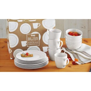 Bliss 16 Piece Dinnerware Set, Service for 4
