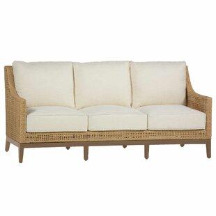 Summer Classics Peninsula Patio Sofa with Cushions