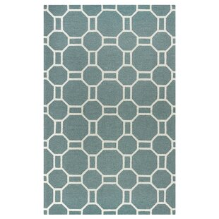 Evangeline Hand-Tufted Dark Sage Indoor/Outdoor Area Rug
