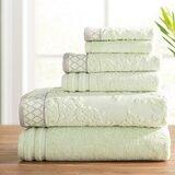 Briggs 6 Piece 100% Cotton Towel Set