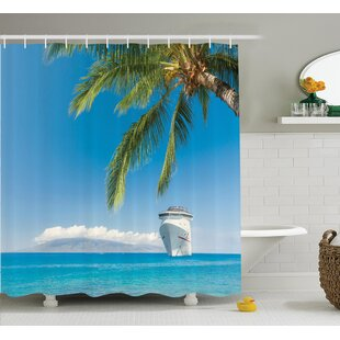 Lb Shower Curtains Two White Cute Swans In Love Blue Sky Sea Beach Bottom Pineapple Bathroom Curtains For Bath Tub Home Decor Shower Curtains