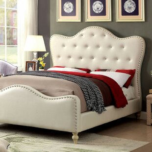 Compare Trahan Upholstered Platform Bed by House of Hampton Reviews (2019) & Buyer's Guide