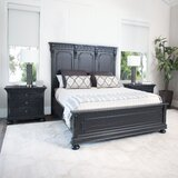 Goodwater Platform Solid Wood 3 Piece Bedroom Set by Darby Home Co