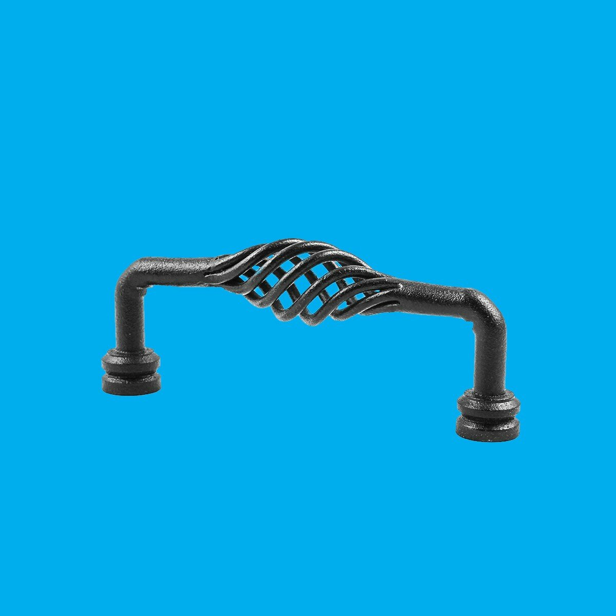 "4 Cabinet Pull Birdcage Black Wrought Iron 6/""Renovator/'s Supply"