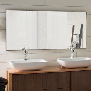 Saterfiel Matte Aluminium Wall Mirror