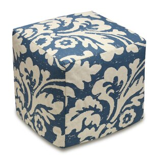 Jacobean Cube Ottoman by 123 Creations
