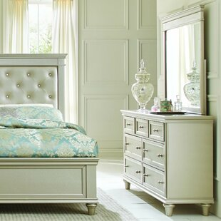 Willa Arlo Interiors Celine 7 Drawer Dresser with Mirror