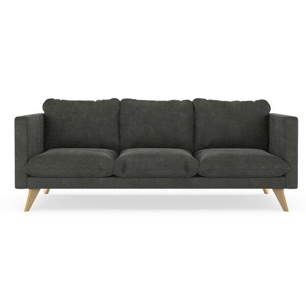Strange Brown Suede Sofa Wayfair Pabps2019 Chair Design Images Pabps2019Com