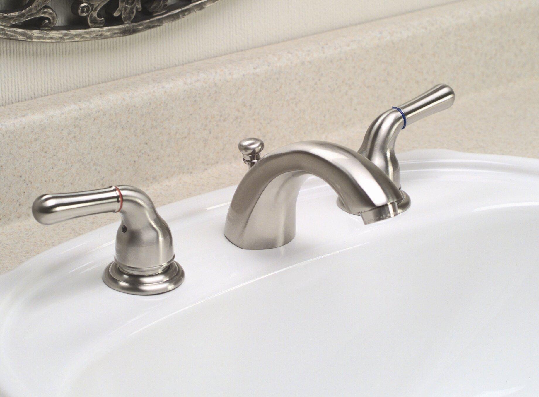 Premier Faucet Sanibel Widespread Bathroom With Cold And Hot Handles Wayfair