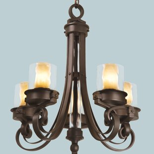 Kalco Newport 5-Light Shaded Chandelier