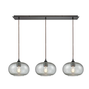 SantaBarbara 3-Light Kitchen Island Pendant