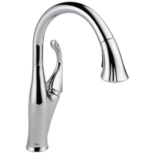 Delta Addison Pull Down Single Handle Kitchen Faucet with Diamond Seal Technology and MagnaTite® Docking