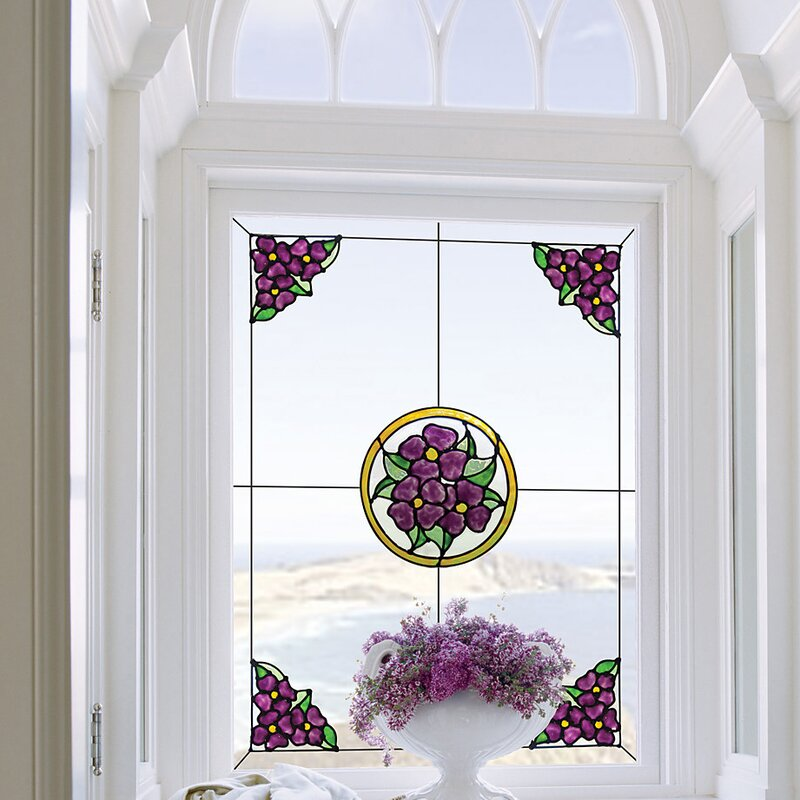 Glass Decoration Glass Door Sticker Window Film For Living Room Retro Lounge Slogan