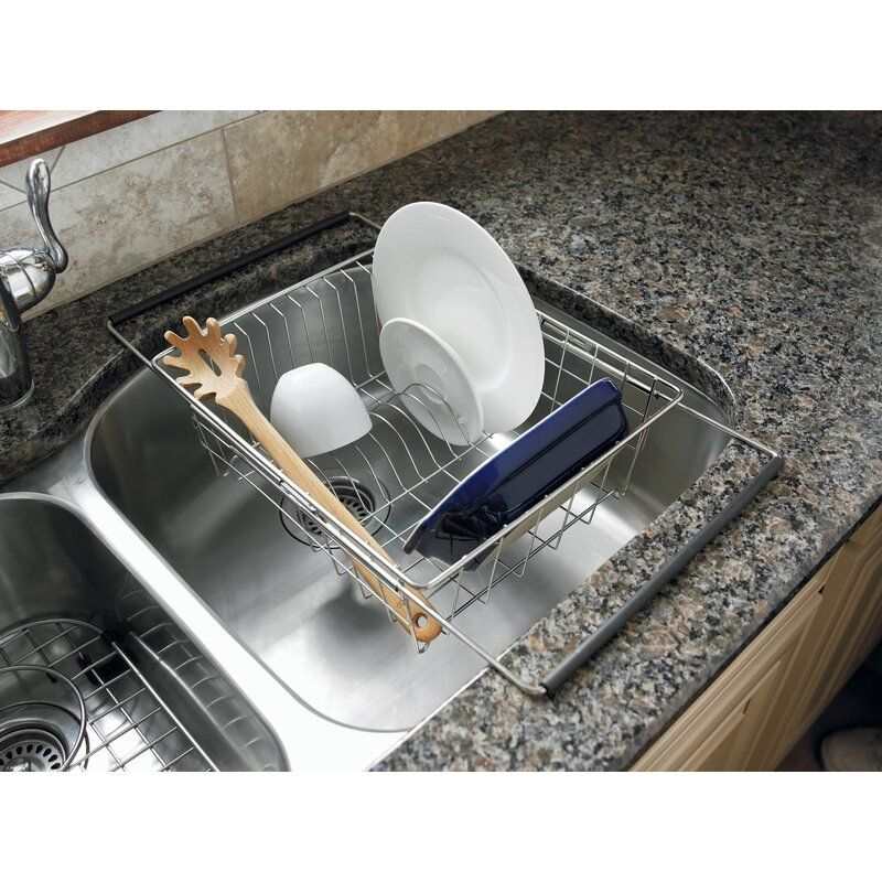 Charmant Sink Stainless Steel Dish Rack