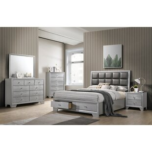 Doucet Queen Platform 6 Piece Bedroom Set