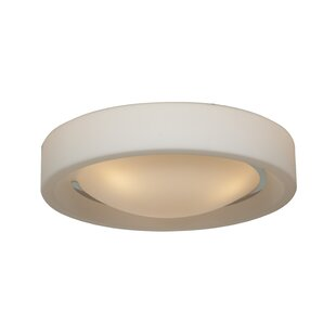 Latitude Run Patino 3-Light Outdoor Flush Mount