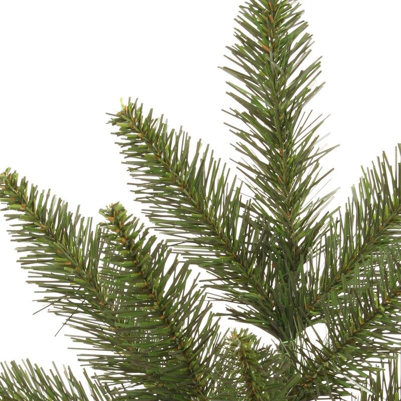 The Holiday Aisle Camdon Fir 9.5' Green Fir Artificial ...