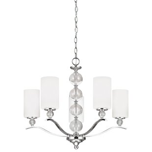 Astoria 5-Light Shaded Chandelier by House of Hampton