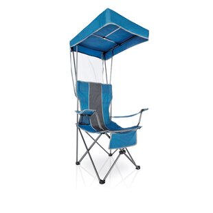 Freeport Park Partone Canopy Folding Camping Chair