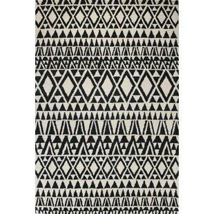 Read Reviews Coldagh Wool Ivory/Black Area Rug ByCorrigan Studio