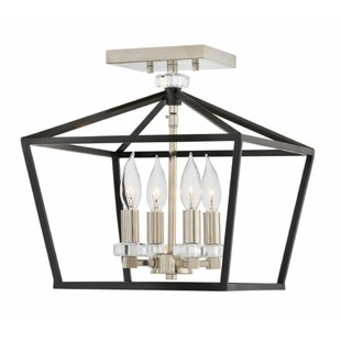 Hinkley Lighting Stinson 4-Light Semi Flush Mount