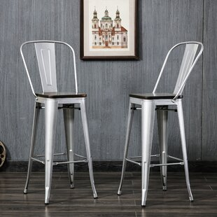 Beavers 30 Bar Stool (Set of 2) Williston Forge